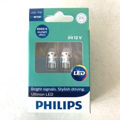 PHILIPS Ultinon LED 6000K T10 W5W 121961ULWX2 0.6W