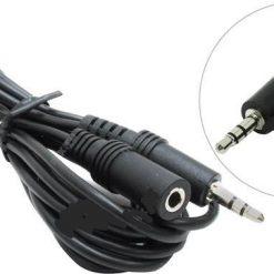 Кабель аудио AUX 3.5mm Jack / M / F 1.5м