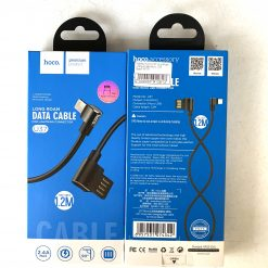 Кабель HOCO U37 Long Roam charging data Type-C 1,2m. Black