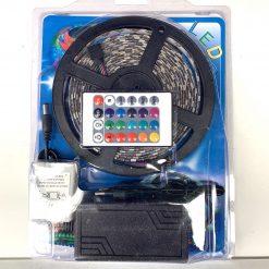 Cветодиод лента LED 5050 RGB 5m 12v с дистанционным пультом и блоком питания