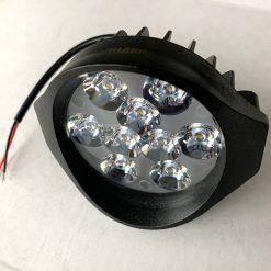 Фара светодиодная круглая 166 27W дальний свет