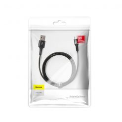 USB кабель Baseus Halo Data Micro USB Cable 3A (1m) black