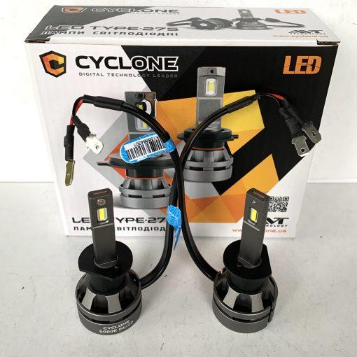 Комплект LED ламп CYCLON CR type 27S H1 26W 5100Lm 5000K 9-16v