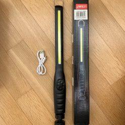 Фонарик BL 821 COB аккумуляторный с зарядкой USB и магнитом