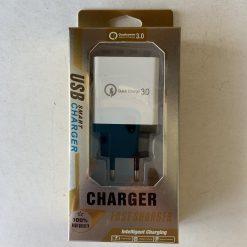 СЗУ Адаптер Fast Charge 220v 4 USB