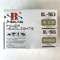 Фонарик на лоб Bailong BL 963 аккумуляторный