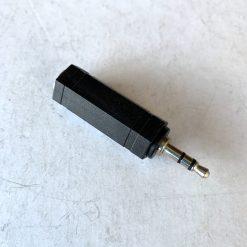 Переходник 6,3 мм стерео гнездо-3,5 мм стерео штекер