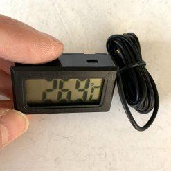 Термометр цифровой с выносным датчиком температуры