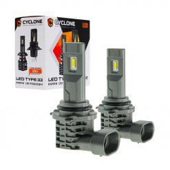 Комплект LED ламп CYCLON type 33 HB4 12W 4800Lm 5000K 9-16v