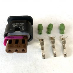 AUDI VW 4F0973703A разъём 3 pin (без провода) оригинал