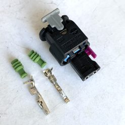 AUDI VW 4F0973702 Разъём 2 pin оригинал (без провода)