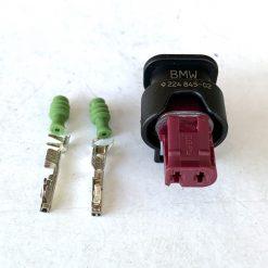BMW 9224845-02 Разъём 2 pin (без провода) оригинал