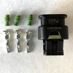 BMW 7615490-04 разъём 3 pin (без провода) оригинал