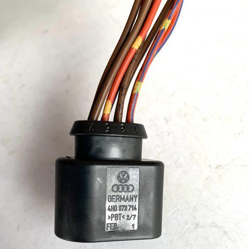 AUDI VW 4H0973714 разъём 8 pin GERMANY оригинал