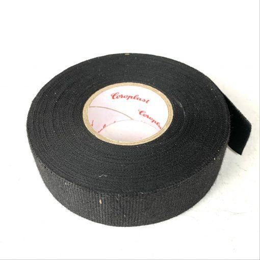 Изолента Сoroplast 8550 0,3mm*25mm 25m ПЕТ — флисовая. Made in Germany