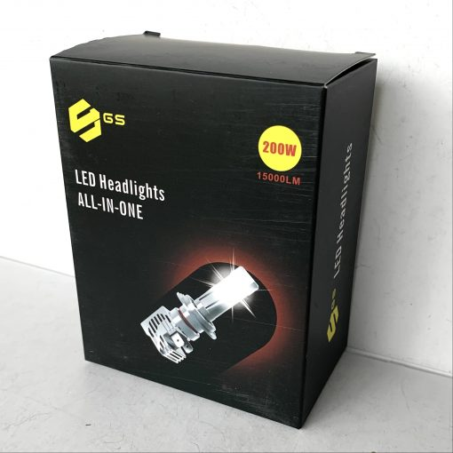 Комплект LED ламп GLOBAL SOLUTION M4PRO H7 6000K 4000Lm 15W 9-32v