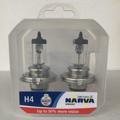 Narva 48861 H4 RANGE POWER 50+ 60/55w P43t 12v коробка