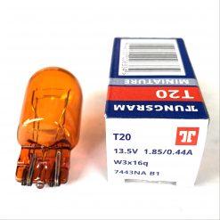 TUNGSRAM 7443NA T20 WY21/5W 12v W3x16g Amber