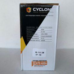 Фара світлодіодна CYCLONE WL-F1B 30W EP6 SP дальний свет