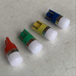 светодиод T10 2smd 2835 12-24v PHILIPS керамика цветные 100Lm драйвер