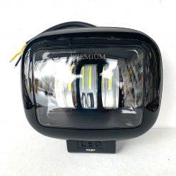Фара светодиодная 88ВB 45W PREMIUM ближний свет + габарит 6W NEW прямоугольная