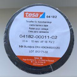 Изолента TESA 04182 0,104mm*19mm 33m PV 2 ПВХ. Made in Germany