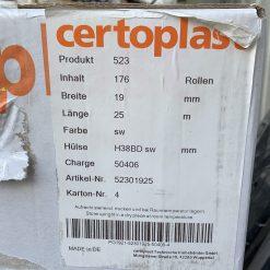 Изолента Certoplast 523 0,25mm*19mm*25m ПЕТ-тканевая. Made in Germany