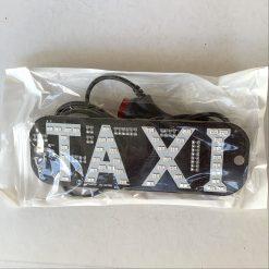 Cветодиодная табличка TAXI - двух цветная с переключателем цвета, 12V