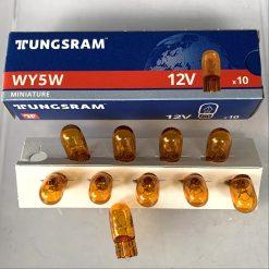 Tungsram 501NA WY5W 5w 12v W2,1x9,5d Amber