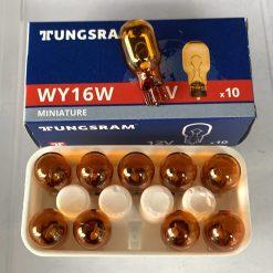 Tungsram WY16W 16w 12v W2,1x9,5d Amber