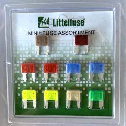 Littelfuse MINI fuse assortment набор предохранителей 10 шт оригинал