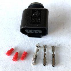 AUDI VW 8K0973703 Разъём 3 pin GERMANY оригинал (без провода)