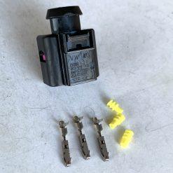 AUDI VW 8K0973703 Разъём 3 pin CHINA (без провода)